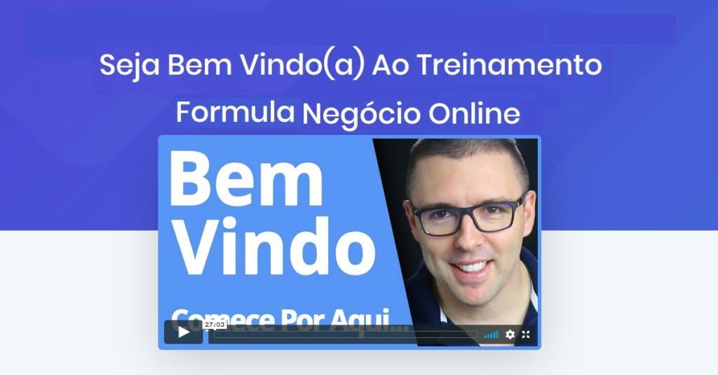 formula de negócio online login